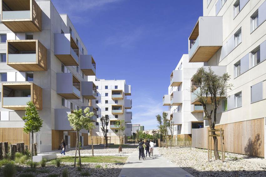 180 logements à Muret - Albert & Compagnie